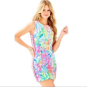Lilly Pulitzer Mila sparkling sands shift dress